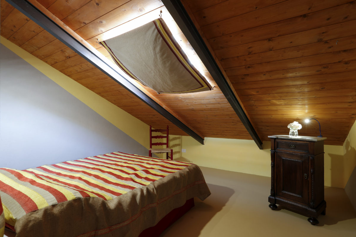 camera e colazione - Stanza singola- Piano superiore