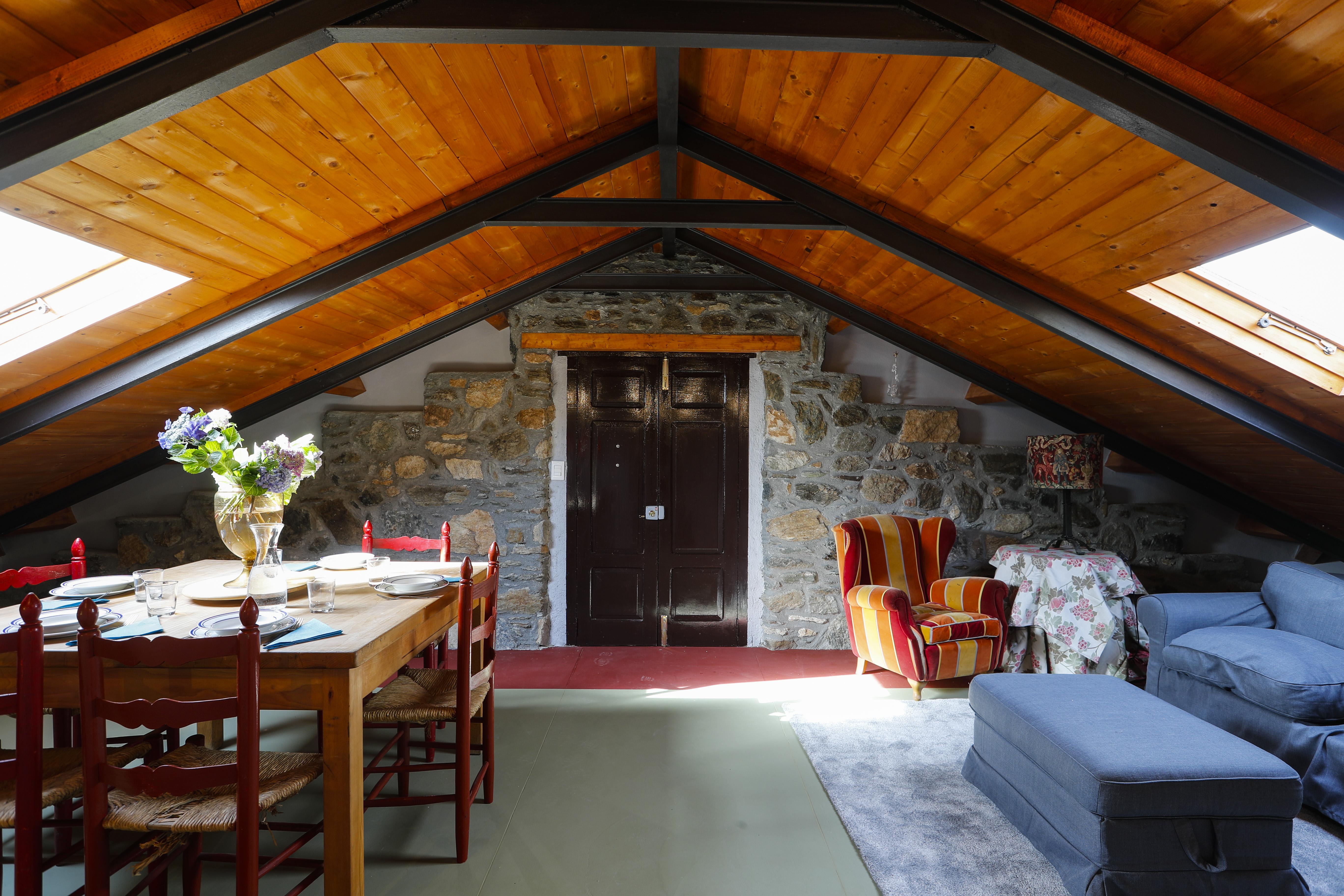 Camera e Colazione - Salotto - piano superiore